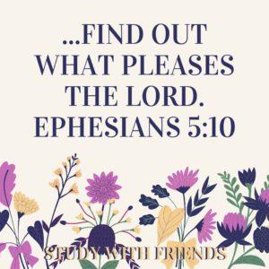 Ephesians 5:10