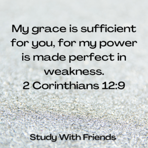 2 Chorinthians 12:9